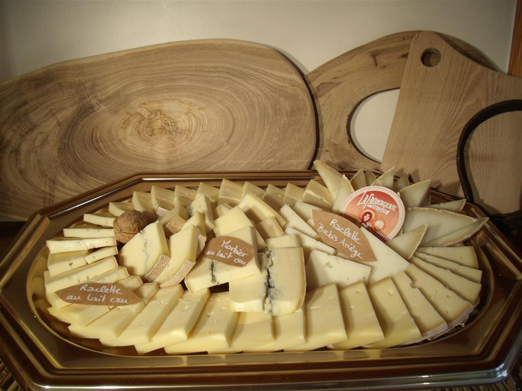 Plateau raclette 3 fromages