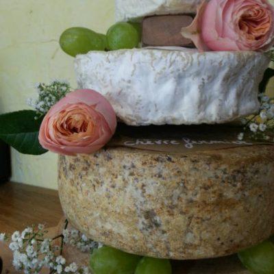 Grand modèle de gâteau de fromage