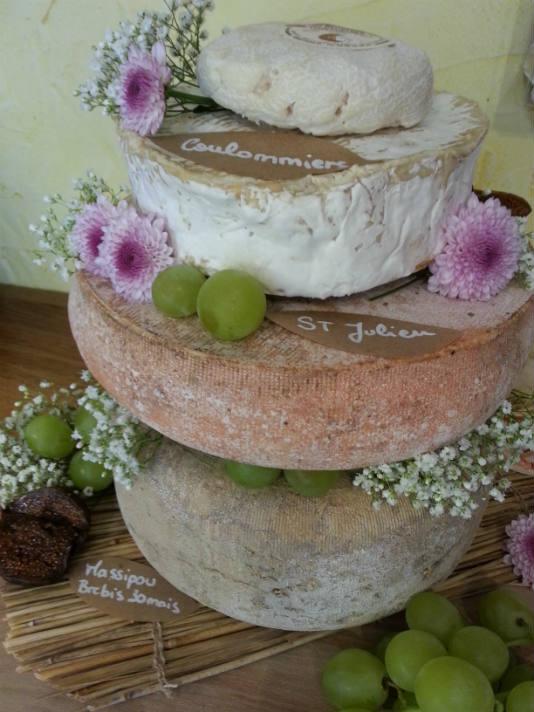 Gâteau de fromage printanier